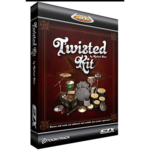 Toontrack Twisted Kit EZX | download-key | EZ-Drummer Add-on