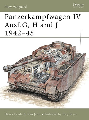 Panzerkampfwagen IV Ausf.G, H and J 1942-45 (New Vanguard, Band 39)