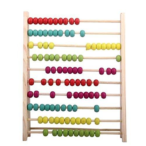 ACHICOO Zählrahmen Holz Abakus Lernspielzeug für Kinder Kind Geschenk