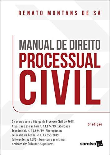 Manual De Direito Processual Civil - 6ª Edição 2021