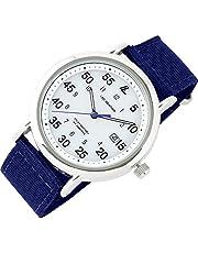 [ラドウェザー] ソーラー腕時計 メンズ アナログウォッチ ミリタリーウォッチ 日常生活防水 メンズ腕時計 ソーラー ミリタリー ナイロンベルト