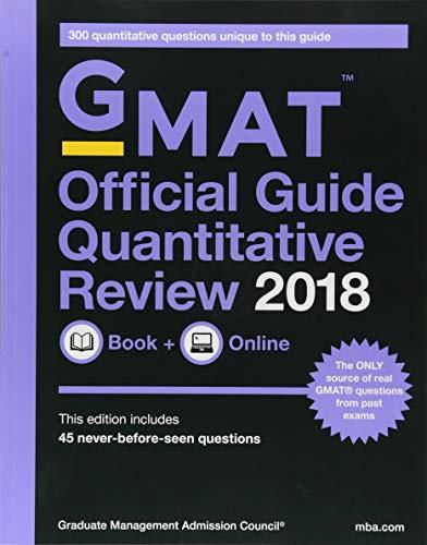 GMAT Official Guide 2018 Quantitative Review: Book + Online (Official Guide for Gmat Quantitative Review)