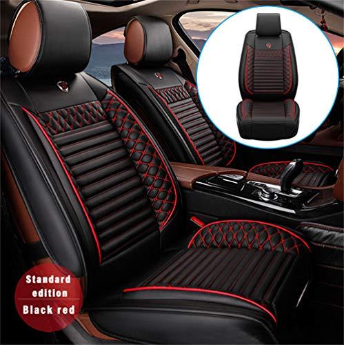 Handao-US Fundas de asiento de coche para Porsche 997 (2 puertas), juego completo de 2 asientos, protección impermeable para todo tipo de clima, fácil instalación (compatible con airbag), color negro