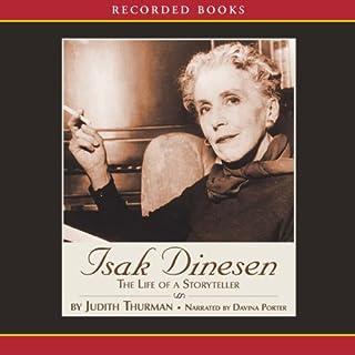 Isak Dinesen audiobook cover art