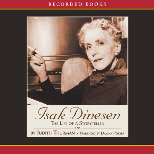 Isak Dinesen audiobook cover art