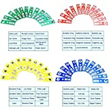 Kids Microscope Prepared Slides, Bysameyee Plastic 48pcs Animals Insects Plants Flowers Sample Specimens for Students Homeschooling Biology Science Programs