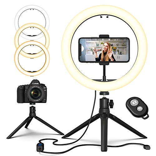 Ring Light with Stand, GPED 10.2