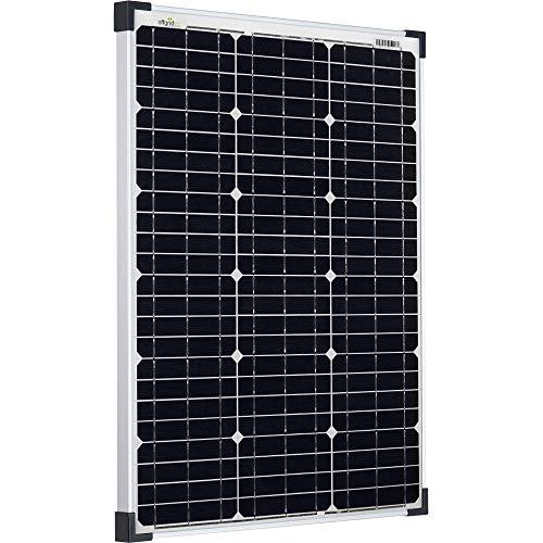 Offgridtec 50W 36V Solarmodul monokristallin ideal für 12V und 24V Batterieladung