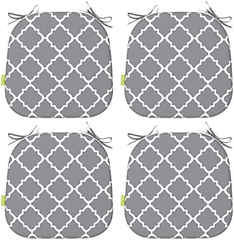 LVTXIII Indoor Outdoor Seat Cushions All Weather Patio Accent U Shape Chair Pads 16 x 17 for product image