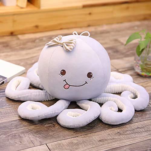 Cartoon Octopus Knuffels, Octopus Walvis Poppen Knuffels, Gevulde Zeedieren Speelgoed, Kinderen Baby Geschenken 30Cm (Blauw)