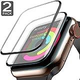 【2020最新型】Apple Watch フィルム Apple Watch Series3 Series2 Series1 38mm ガラスフィルム 保護フィルム アップルウォッチシリーズ 3 2 1 フィルム 弧状のエッジ加工 曲面カバー 高透過率 指紋防止 硬度9H 気泡レス アップルウォッチ 液晶保護フィルム(Series3/2/1 38mm)