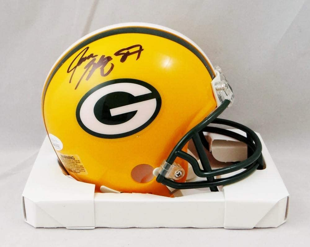 Long-awaited 5 ☆ very popular Jace Sternberger Autographed Green Bay Packers JSA - Helmet Mini