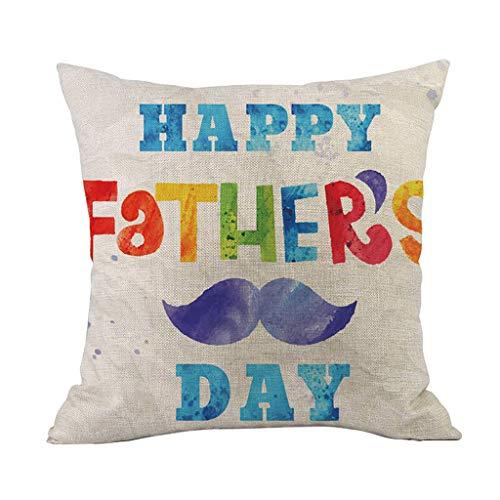 Vovotrade Alles goed voor vaderdag party kussensloop lievelingsplek geschenk kussen decoratief kussen 43 cm x 43 cm sierkussenslopen sierkussenhoes