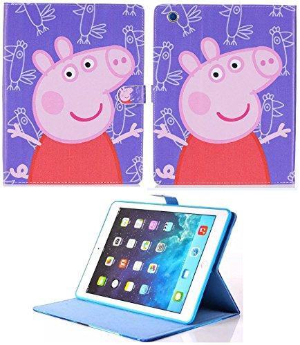 Funda inteligente para iPad Pro de 9,7', iPad 9,7, iPad Air 1-2, Peppa Pig