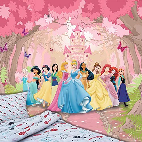 Papel de Parede Adesivo, Infantil Princesas