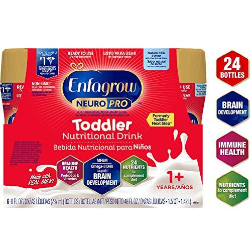 Enfagrow NeuroPro Omega 3 DHA Prebiotics Non-GMO (Former Toddler Next Step) Toddler Nutritional Milk...