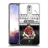 Head Case Designs Offizielle Liverpool Football Club Kenny Dalglish Legenden Soft Gel Huelle kompatibel mit Nokia X6 / 6.1 Plus