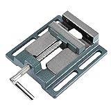 Tornillo de banco de tornillo de banco de precisión Tornillo de prensa de taladro de servicio pesado, alta dureza y durabilidad, tornillo de banco de taladrado de fresado Herramienta de tornillo de ba