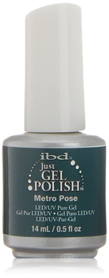 ビュッフェ債務者割り当てるibd Just Gel Nail Polish - Metro Pose - 14ml / 0.5oz