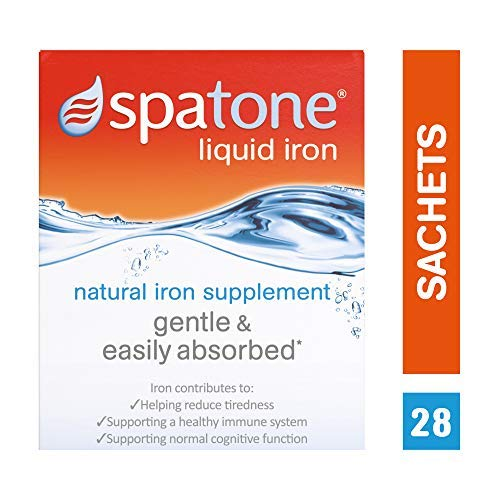 3 x Nelsons Spatone 100% natural iron supplement 28 day 28-day pack