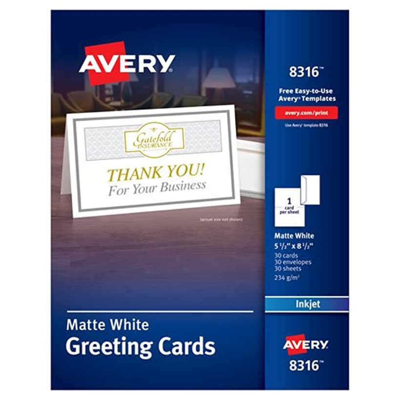 AVE8316 - Avery Greeting Card