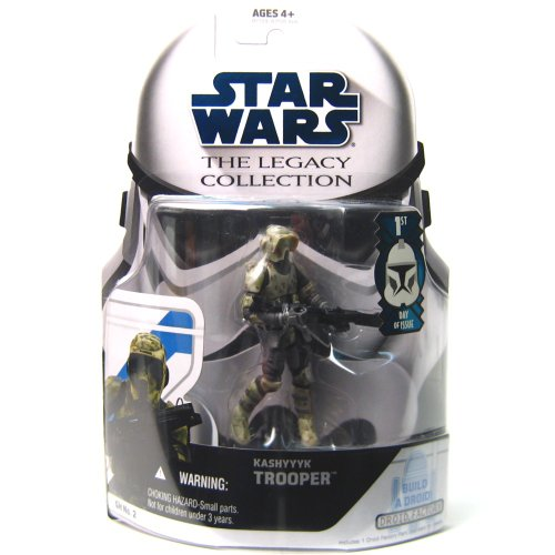 Star Wars The Legacy Collection Kashyyyk Trooper Build-A-Droid  3-3/4 Inch Scale Action Figure GH No. 2