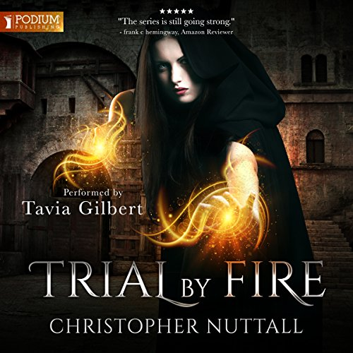Trial by Fire audiobook cover art