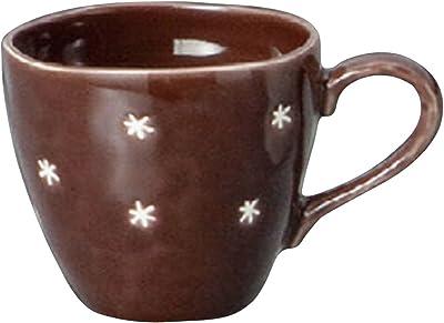 山下工芸(Yamasita craft) アスタリスク茶マグ 8.2×8.2×8cm 250cc 11741070