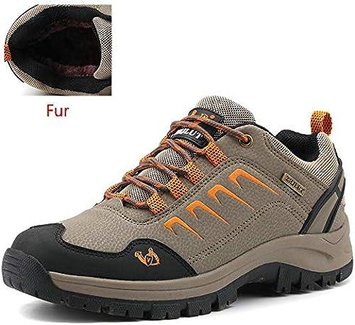 QLJ01 Chaussures de randonnée pour Hommes en Plein air imperméables Randonnée pédestre Jogging Trekking Escalade Chaussures de Sport pour Unisex Chaussures de randonnée Professionnelles