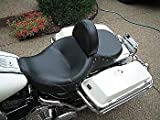 Grasshopper Limited Drivers Backrest for Harley Davidson Touring NON Studded Quick Release for Street Glide, Road Glide, Road King includes mounting hardware 100% AMERICAN MADE Adjustable Forward and Back