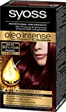 Syoss Oleo Intense Coloration, 4-23 Burgunder Rot, 3er Pack (3 x 115 ml)