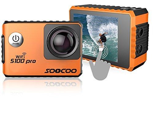 4K WiFi Action Sports Camera Cam SOOCOO Video Camera S100 Pro 20MP...