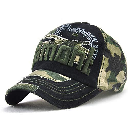 sdssup Baseball Cap Outdoor Visier Herren und Damen Hut schwarz verstellbar