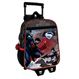 Mochila preescolar con carro Batman VS Superman Bicolor