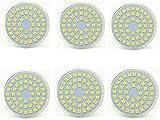 Bombillas LED Paquete de 6 MR16 GU5.3 Bombilla LED 24V, 5W (equivalente a 50W), Energy Star, 450lm, 24V (color, blanco cálido), blanco cálido