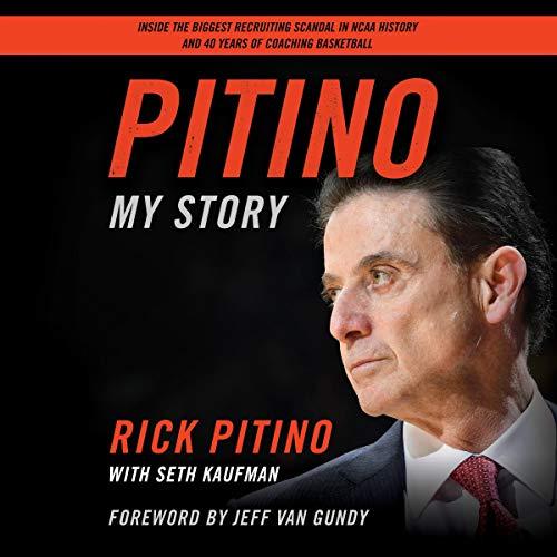 Pitino audiobook cover art