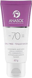 Protetor Solar Facial FPS 70 Anasol 60g
