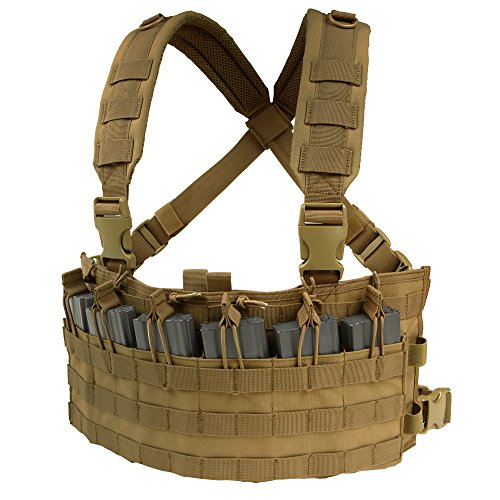 Condor Tactical Rapid Assault Chest Rig (Coyote Brown)