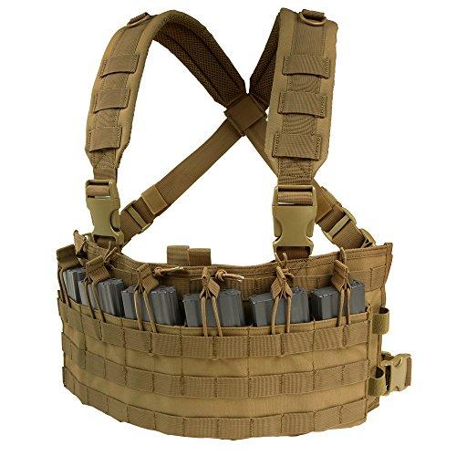 Condor Tactical Rapid Assault Chest Rig (Coyote Brown)