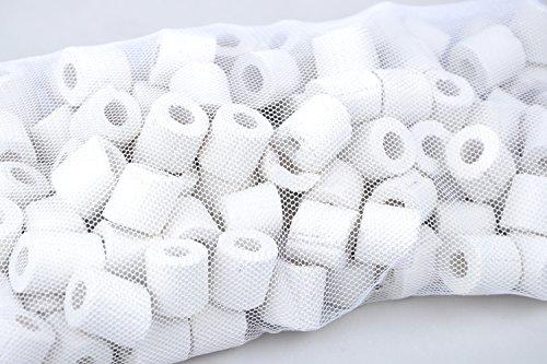 120 keramische ringen - filtermateriaal geschikt voor alle aquarium- en vijverfilters