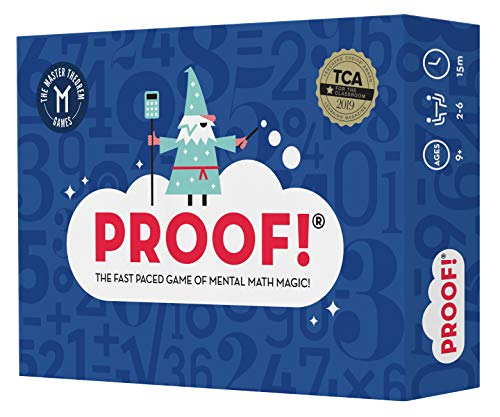 Proof Math Game  The Fast Paced Game of Mental Math Magic  Teachers' Choice Award Winning Educational Game Ages 9