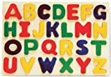 Puzzled Alphabet Raised Wooden Puzzle for Children by Puzzled