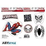 ABYstyle Abysse Corp_ABYDCO436 - Pegatinas de Marvel (16 x 11 cm, 2 Hojas), diseño de...