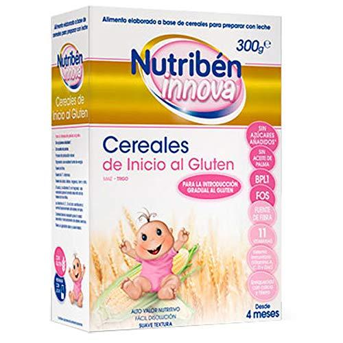 Nutribén Innova Cereales de Inicio al Gluten +4meses, 300g