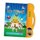SM SunniMix Kids E-Book 2 en 1 Lectura Electrónica de Libros Electrónicos Bilingües en Tailandés...