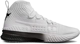 Under Armour Project Rock 1 Mens Training Shoes - White-9