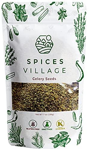 Spices Village Celery Seeds, 7 Ounces - Whole...