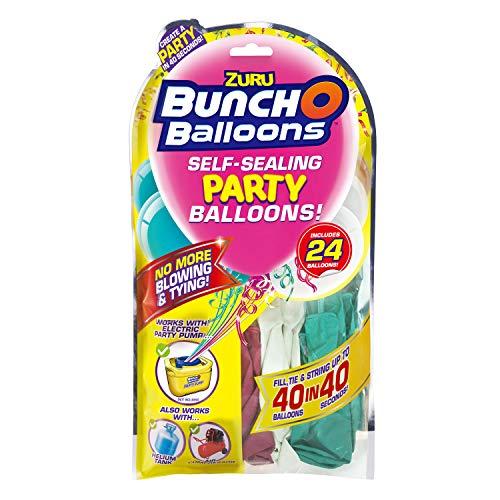 Zuru 51679 - Bunch O Balloons Party, 40 Ballons in 40 Sekunden, Refill Pack mit 24 Ballons und Adapter, 3 fach sortiert, keine Auswahl möglich