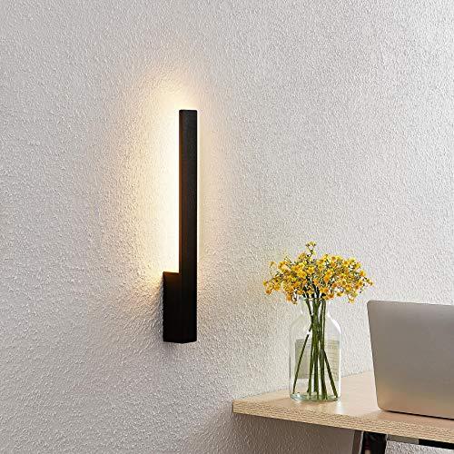LED Lámpara de pared 'Thiago' (Moderno) en Negro hecho de Aluminio e.o. para Pasillos (2 llamas, A+) de Arcchio   aplique LED, aplique