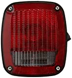 Grote 53782 Ford Stop Tail Turn Box Light (RH w/ License Window)